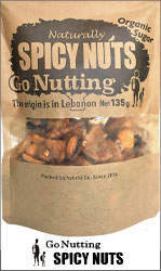 Go Nutting SPICY NUTS (スパイシーナッツ) from Lebanon